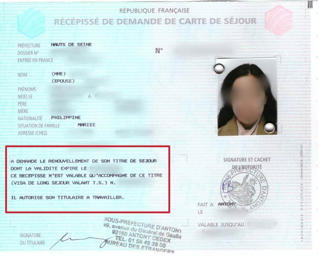 How To Apply For A Carte De Séjour Or French Residency Card - The French Adobo