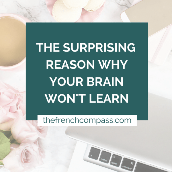 The Surprising Reason Why Your Brain Won't Learn