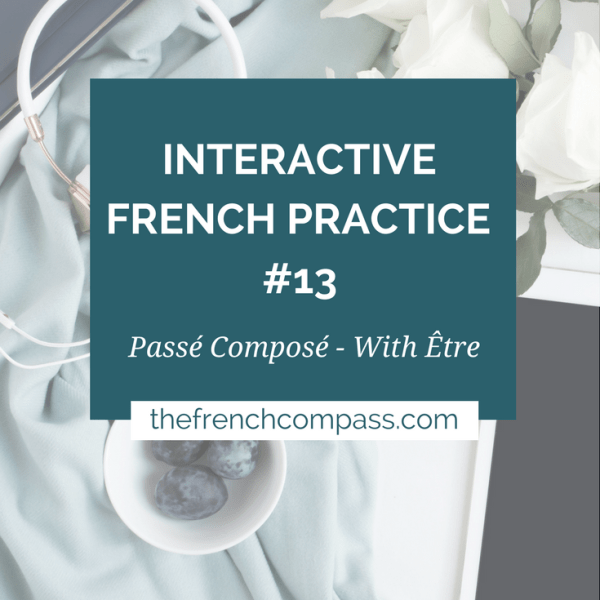 Interactive French Practice 13