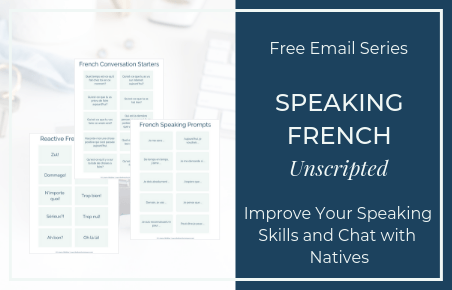 Free Email Series to Start Speaking French