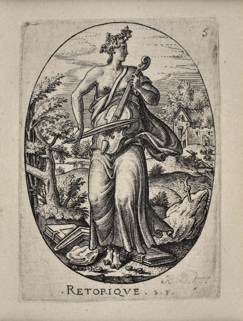 Engraving of