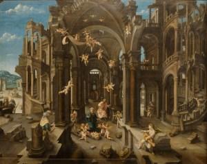 Jean de Gourmont the Elder, L'Adoration des bergers (c. 1525).