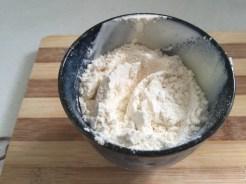 Two pots of Flour.