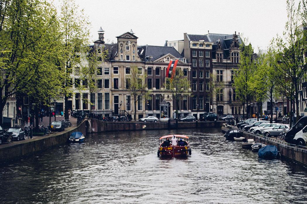 Ballade en Bateau à Amsterdam