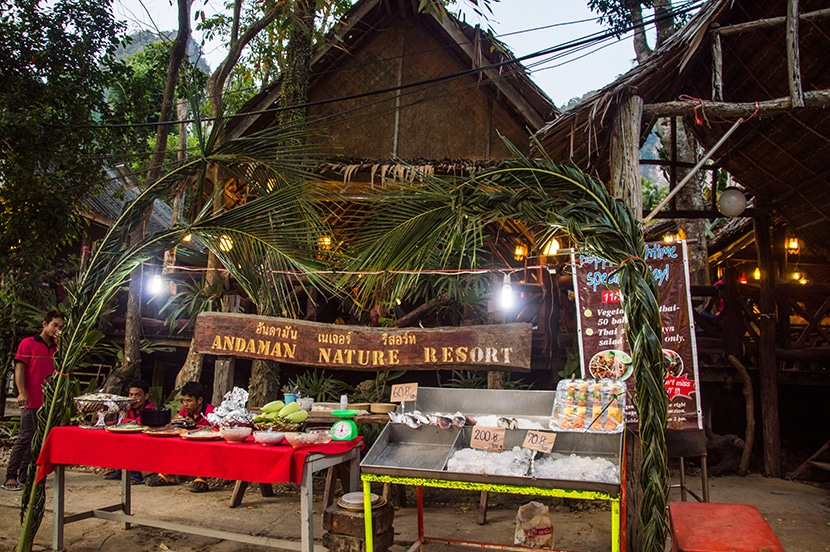 tonsai beach marché