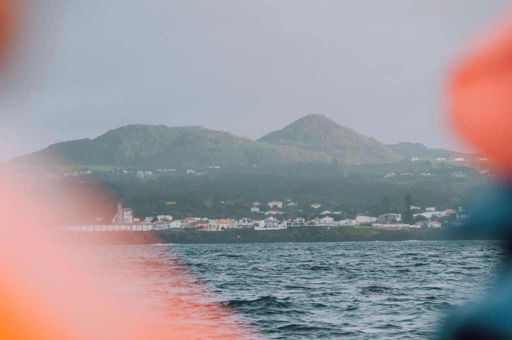 vue mer açores falaise