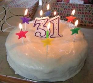 31birthdaycake