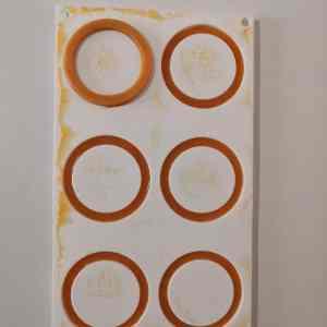 Assemblage des inserts abricot