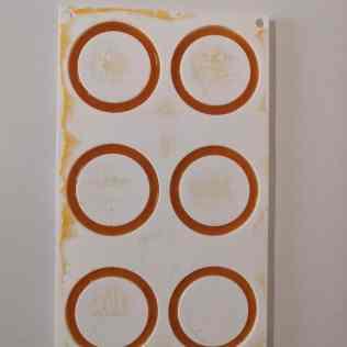 2eme moulage des inserts abricot