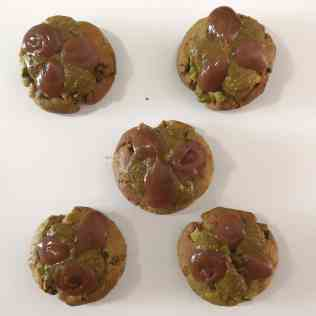 Montage du cookie pistache