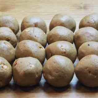 Cookies boulés
