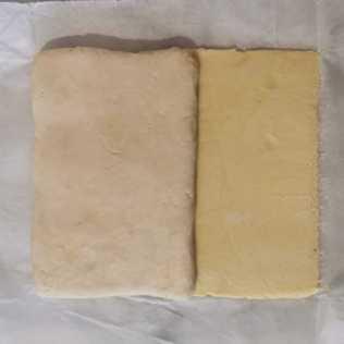 beurre manié et détrempe pour pâte feuilletée inversée