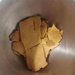Pâte pour croustillant chocolat au lait