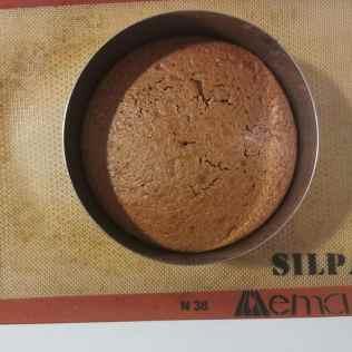 Cake chocolat après cuisson