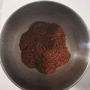 Sablé cacao boudre