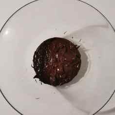 émulsion crème anglaise et chocolat