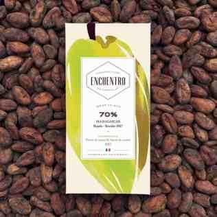 Chocolat Encuentro 70% pure origine Madagascar
