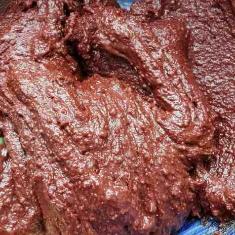 préparation biscuit sans farine au chocolat