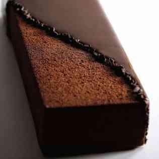 bûche écrin chocolat pénombre