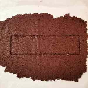 rectangle sablé grué reconstitué