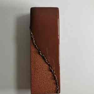 bûche écrin chocolat finalisée