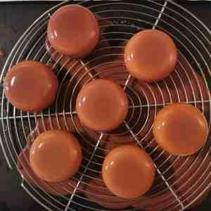 Glaçage tartelettes noisette citron