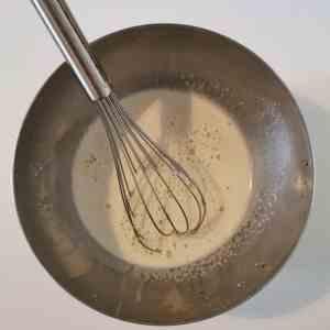 mélange crème pâtissière crue