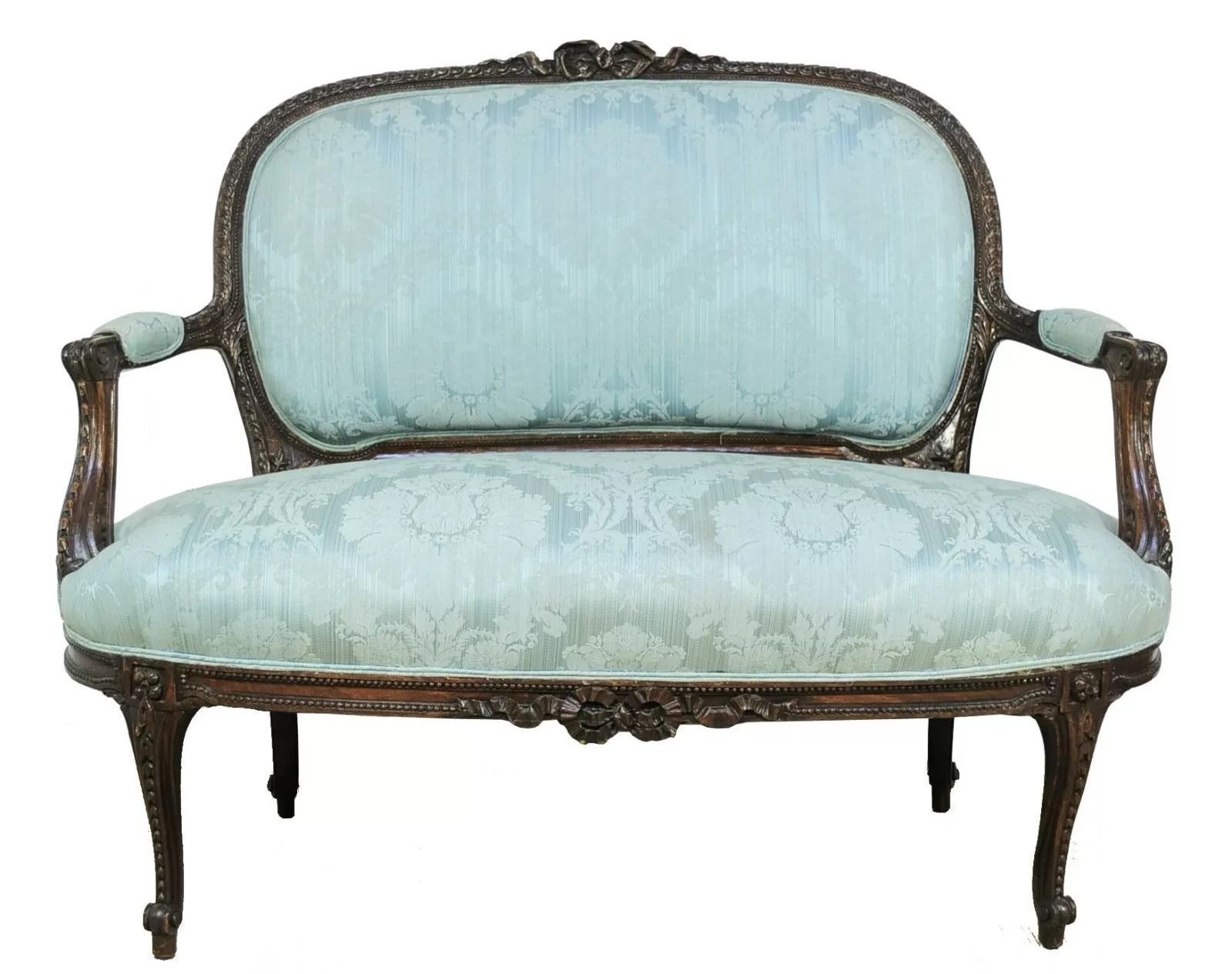 antique french sofa ebay panache dog style sofas chaise longue ornate gold leaf
