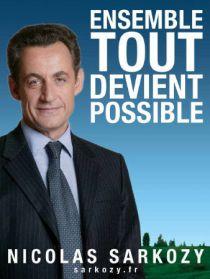 Sarkozy's poster in 2007