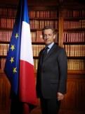 Nicolas Sarkozy's official portrait