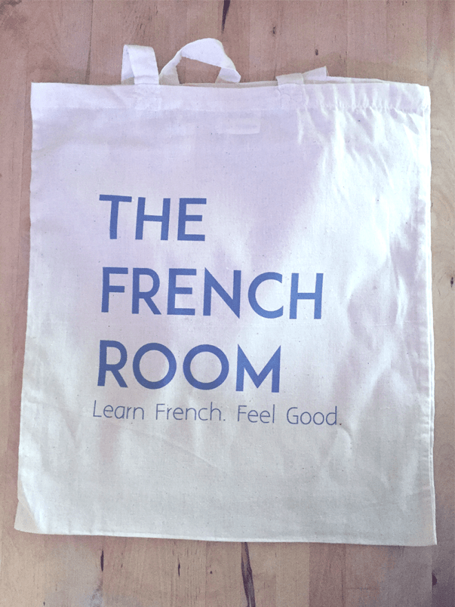 Free Tote bag as part of the starter pack for all new learners