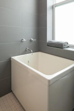 Kohler square bath tub - for illustration purposes only