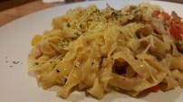 Fettuccine Bacon & Mushroom