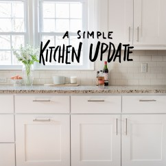 Kitchen Updates Oil Rubbed Bronze Pull Down Faucet A Simple Update Fresh Exchange
