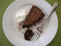 Chocolate and Chickpea Torte
