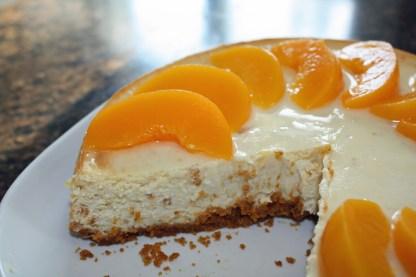 Peach-Cheesecake