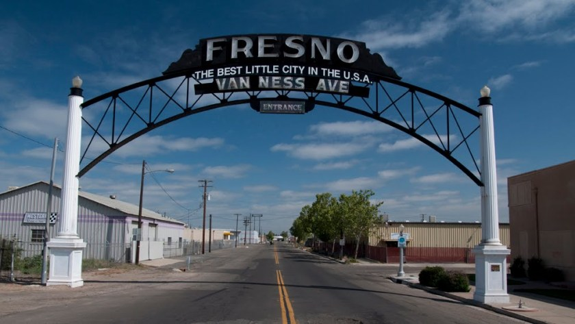 Fresno Sign by David Husted