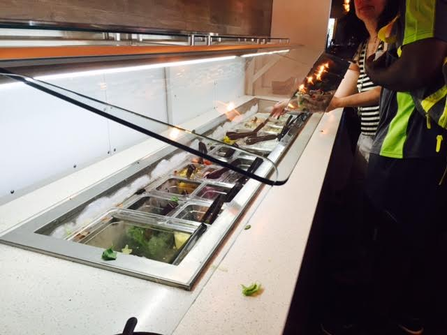 Popolo's new salad bar