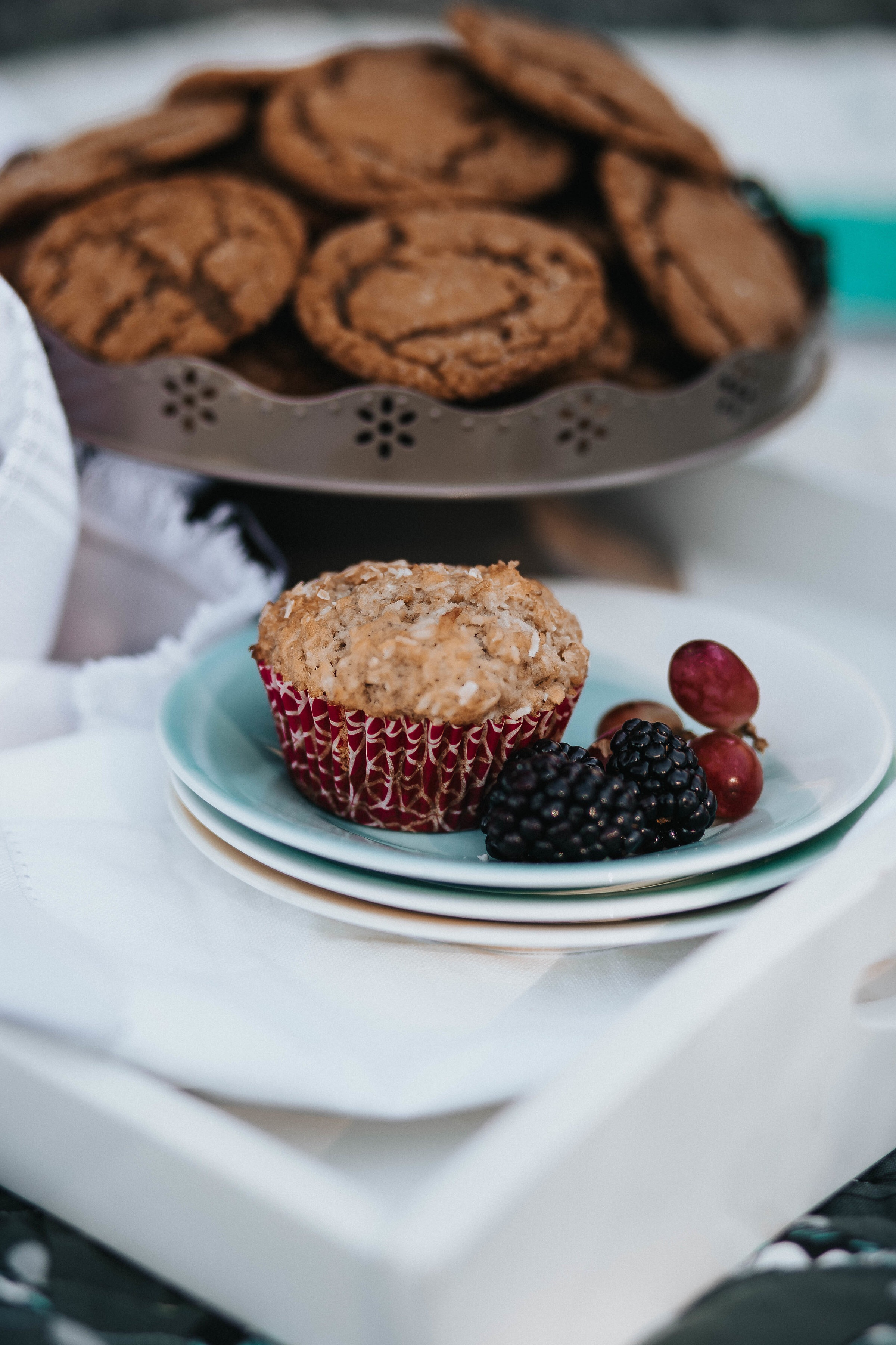 Coconut Oatmeal Muffins