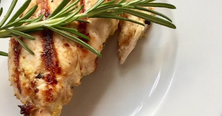 Rosemary, Dijon, and Lemon Marinade for Chicken