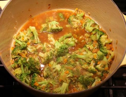 """Broccoli should """"fork tender"""""""