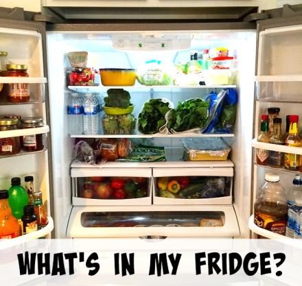 What's In My Vegan Fridge