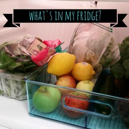 What's In My Fridge