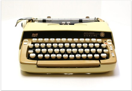 Typewriter - The Friendly Fig