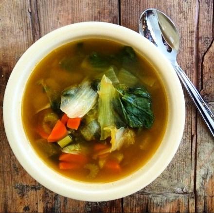 Vegan Escarole Soup Recipe