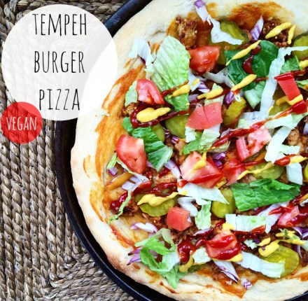 Vegan Burger Pizza Recipe