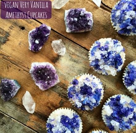 Geode Cupcakes