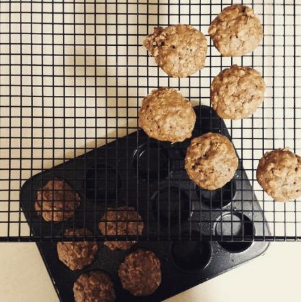 Earl Grey Muffins Vegan