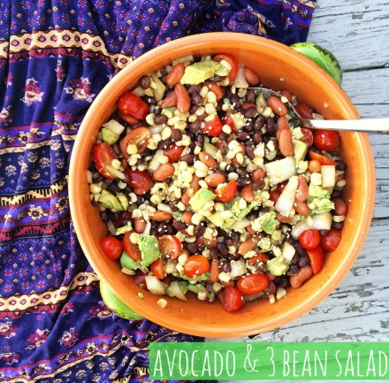 Vegan Black Bean Salad Avocado