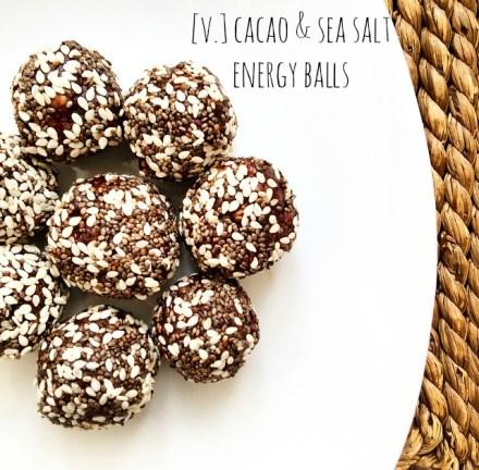 Cacao Energy Balls Vegan